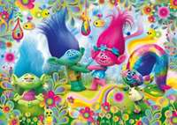 Trolls - Rainbows - 104pc Puzzle