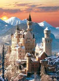 Neuschwanstein Castle - Germany - 1500pc