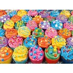 Colourful Cupcakes - 500pc