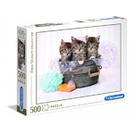 Kittens and Soap - 500pc