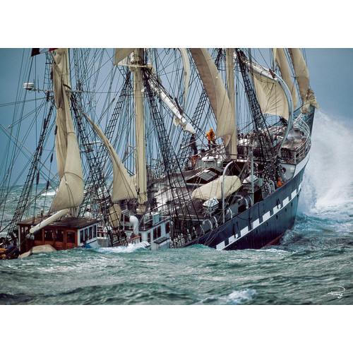 The Last French Tallship - 1000pc