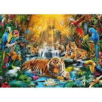 Mystic Tigers - 1000pc