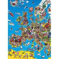 Europe Map - 1000pc
