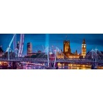 London At Night - Panoramic - 1000pc