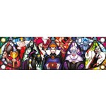 Disney Villains - Panoramic - 1000pc