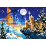Howling Wolves - 1000pc