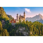 View of Neuschwanstein Castle - Germany - 1000pc