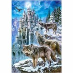 Wolves at the Castle - 1500pc