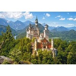 View of the Neuschwanstein Castle - Germany - 1500pc
