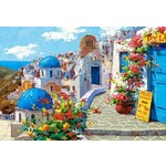 Spring in Santorini - 2000pc