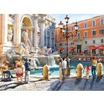 The Trevi Fountain - 3000pc