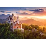 View of Neuschwanstein Castle - Germany - 500pc