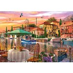 Sunset Harbour - 500pc
