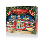 Christmas Village - 5 3D Buildings