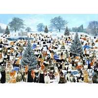Christmas Cats - 1000pc