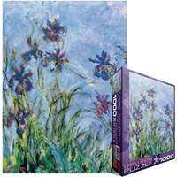 Claude Monet - Irises