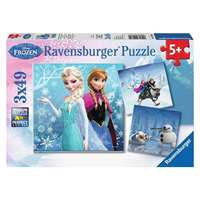 Disney Frozen 3x49pc