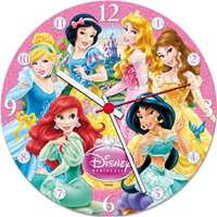 Disney Princess Clock Puzzle