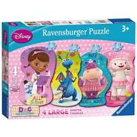 Doc McStuffins - 4 Shaped Puzzles