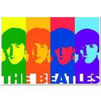the beatles, pop art