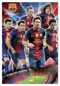fc barcelona collage