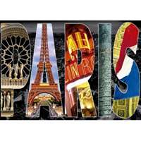 Paris Collage - 1000pc