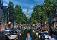 Amsterdam Canal - 1500pc