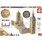 Parliament and Big Be - 3D Monument Puzzle - 156pc
