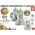 The Tower Bridge - 3D Monument Puzzle - 92pc