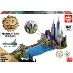 Manhattan Dream - 3D Monument Puzzle - 160pc