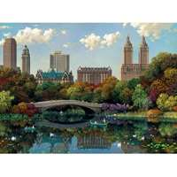 Central Park Bow Bridge - 8000pc