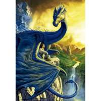 Eragon and Saphira - 500pc