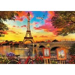 Sunset in Paris - 3000pc