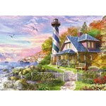 Lighthouse at Rock Bay - 4000pc