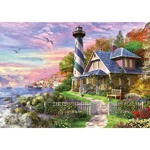Lighthouse at Rock Bay - 1000pc