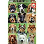 Dogs Collage - 500pc
