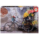Bicycle With Flowers - 500pc