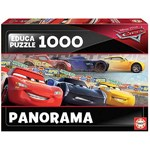 Disney Cars - Panoramic - 1000pc