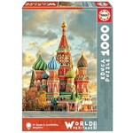 St Basils Cathedral - Moscow - 1000pc