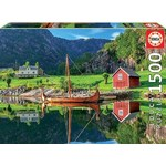 Viking Ship - 1500pc