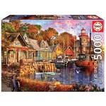 The Harbour Evening - 5000pc