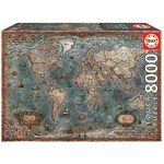 Historical World Map - 8000pc