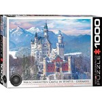 Neuschwanstein Castle in Winter - 1000pc