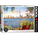 View from Toronto Island - 1000pc