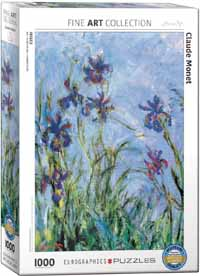 Irises - Claude Monet - 1000pc