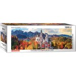 Neuschwanstein Castle in Autumn - Panoramic - 1000pc