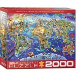 Crazy World Map - 2000pc
