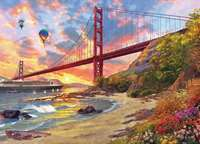 Baker Beach - 1000pc