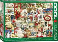 Vintage Christmas Cards - 1000pc