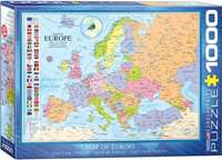 Map of Europe - 1000pc